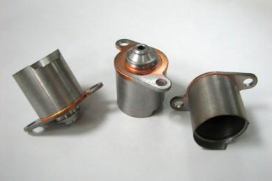 Piezas soldadas mediante soldadura fuerte (brazing) en horno de atmósfera controlada